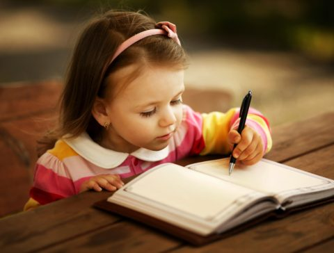 Little-Girl-Writing-Law-of-Attraction-Freedom-Abraham-Hicks